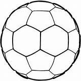 Ball Soccer Coloring Printable Football Colouring Stencils Sports Sheets Clipart Sheet Senses Wild Pages Star Bunch Clip Kathy Keyword Tag sketch template