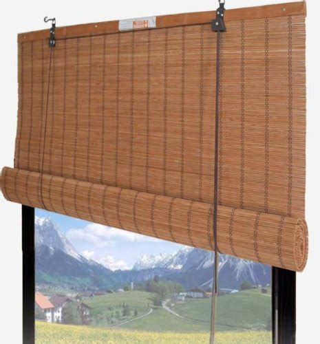 Roll Up Window Blinds by Bamboo Blinds Store