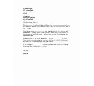 76 Job References Letter