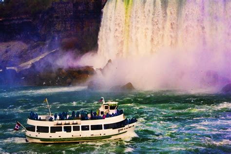 Niagara Falls Boat by Niagara Falls Boat Ride See Large On Black A N I Y