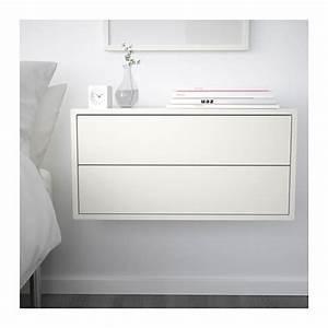 Ikea Kinderküche Erweitern : eket schrank mit 2 schubladen wei schubladen ikea und schr nkchen ~ Markanthonyermac.com Haus und Dekorationen