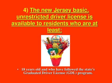 New Jersey Driver License System Chapter 1 P. 1