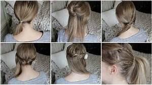 Tuto Coiffure Cheveux Court : tuto coiffure pour cheveux mi long ~ Melissatoandfro.com Idées de Décoration