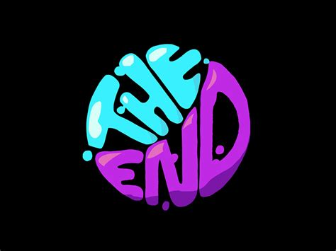 """""""the End"""" Liquid Animation By Kwabena Boachie Dribbble"""