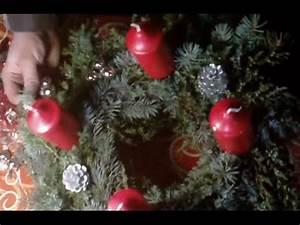 Adventskranz Länglich Selber Machen : kranz binden 1 advent adventskranz basteln adventskranz selber machen weihnachten kerzen ~ Eleganceandgraceweddings.com Haus und Dekorationen