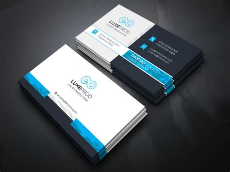 business card designer team   provide