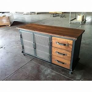 Vintage Industrial Möbel : ellis console with drawers vintage industrial furniture wohnen pinterest diy m bel ~ Markanthonyermac.com Haus und Dekorationen