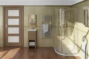 Kork Im Badezimmer : holzboden im bad bodenbelag im bad mit kork gestalten ~ Markanthonyermac.com Haus und Dekorationen