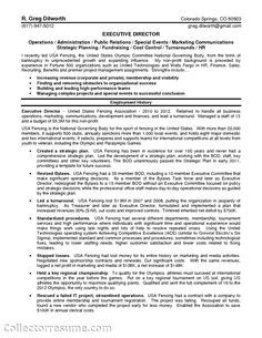 Shop Manager Resume Sle by Program Director Page1 Non Profit Resume Sles