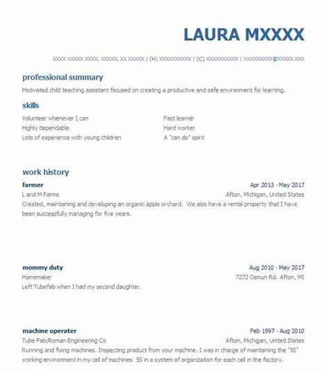 I Want To Make My Resume by Farmer Objectives Resume Objective Livecareer