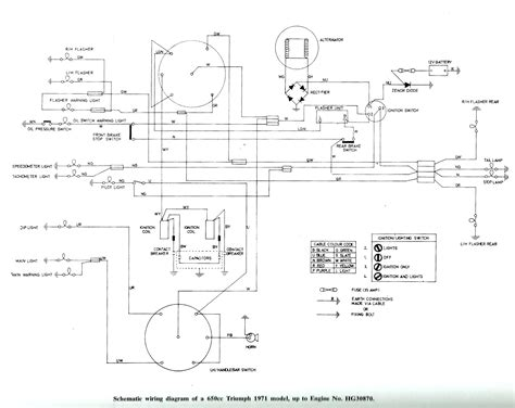 triumph bonneville wiring diagram 33 wiring diagram