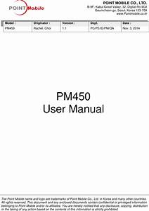 Point Mobile Pm450 Mobile Computer User Manual