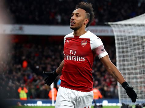 Aubameyang Arsenal 2019