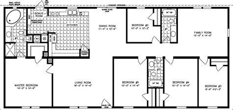 5 bedroom house plans with bonus room the tnr 4686w manufactured home floor plan jacobsen