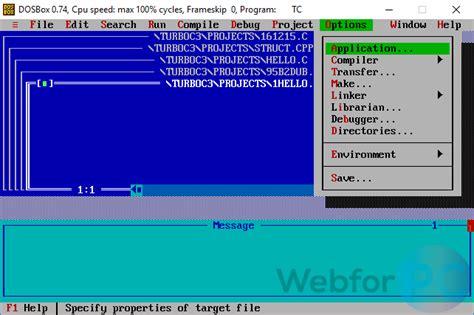 turbo  program   windows webforpc