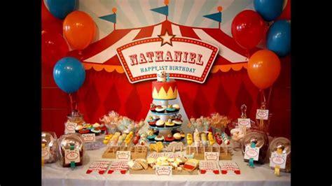 unique circus theme party decorations ideas youtube
