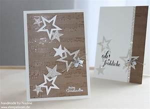 Edle Weihnachtskarten Basteln : adventskalender 12 t r basteln mit stampin up ~ A.2002-acura-tl-radio.info Haus und Dekorationen