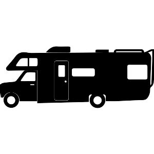 motorhome clipart black and white 93 rv clipart black and white rv car icons recreational