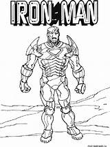 Iron Coloring Pages Printable Cartoon sketch template