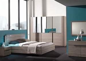 Photo De Lit : chambre adulte mobilier et literie ~ Melissatoandfro.com Idées de Décoration