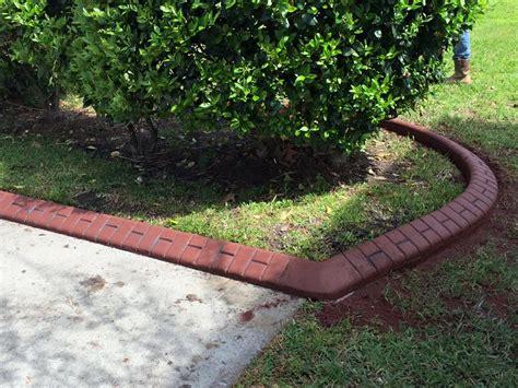 concrete landscape edging landscaping curbing concrete borders summerville sc landscape company flower bed