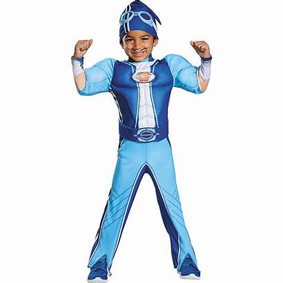 Sportacus Lazy Town Costume Lazytown Muscle Halloween