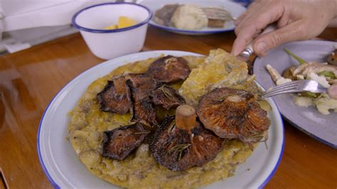 Potato Tortilla With Mushrooms