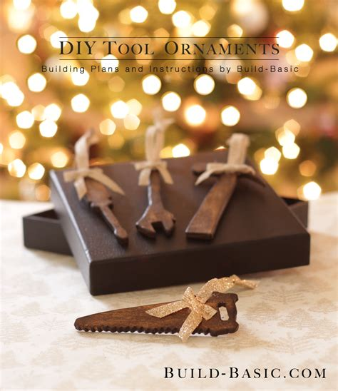 diy tool ornaments build basic