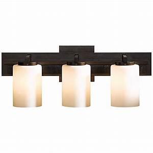 hubbardton forge ondrian opal 3 light bath wall sconce With hubbardton forge bathroom lighting