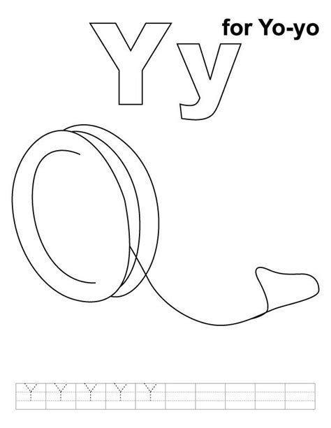 yo yo coloring page preschool crafts coloring