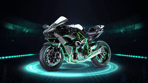 The Motorcycle On A Black Background Wallpaper