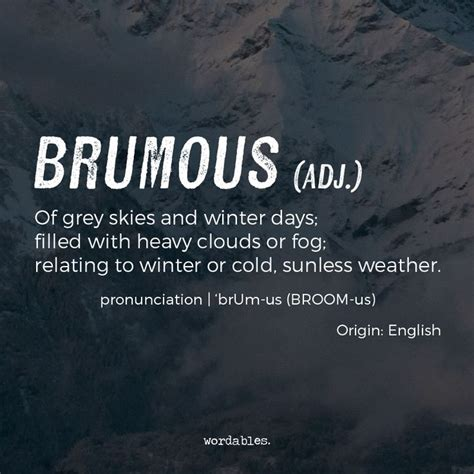 7 Beautiful Words To Describe Weather You've Never Heard