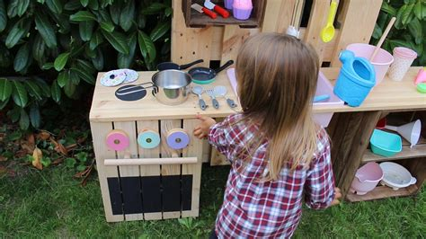matschtisch selber bauen ᐅ matschk 252 che selber bauen aus paletten obstkisten kinderk 252 che