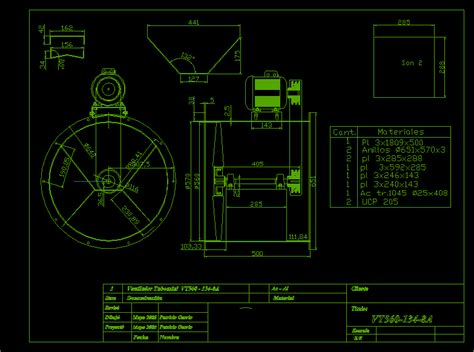 tuboaxial fan dwg block  autocad designs cad