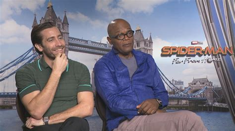 Jake Gyllenhaal and Samuel L. Jackson on 'Spider-Man: Far ...