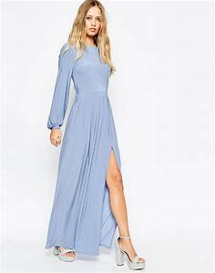 asoslongsleeveslinkymaxidress style pinterest With maxi wedding guest dress