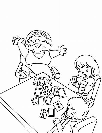 Coloring Cards Playing Pages Card Tarot Beat