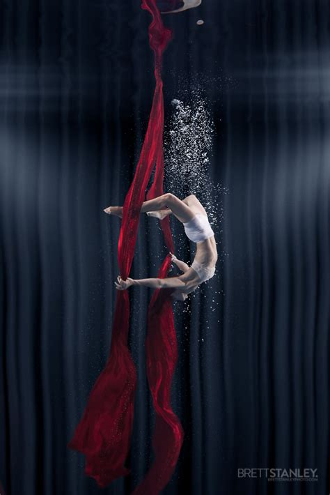 incredible underwater photography  circus performance