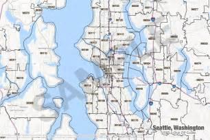 Seattle Washington Zip Code Map