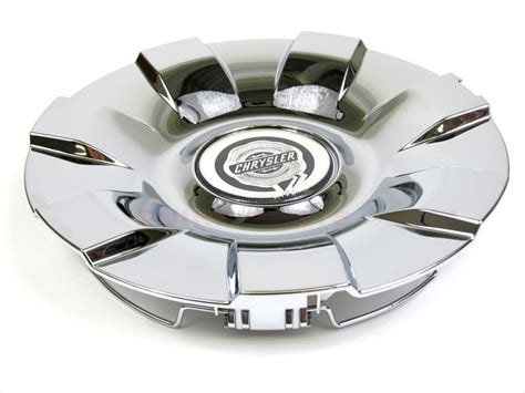 chrysler aspen  chrome wheel center cap hub