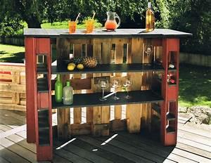 Eine Bar Bauen : buchvorstellung einfache paletten m bel bauen ~ Lizthompson.info Haus und Dekorationen