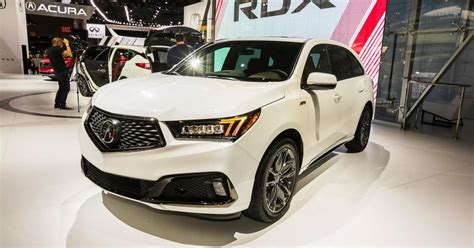 2019 Acura Mdx A-spec Debuts Sportier Threads In New York