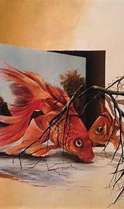 3D Painting. Eka Peradze (2) - Art People Gallery