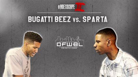 Bugatti Beez Vs Sparta
