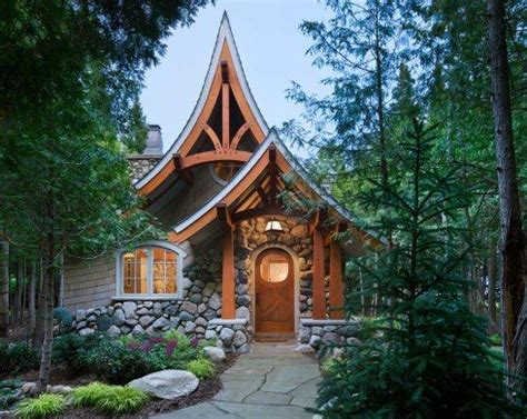 hobbit house designs storybook cottage house plans stock plan from hendricks architecture in sandpoint idaho 835 sq