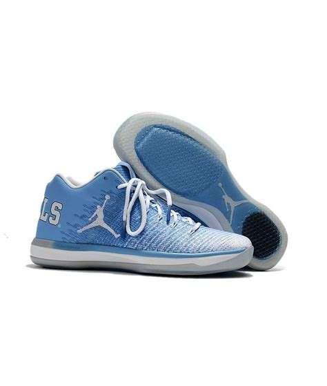 New Release Air Jordan 31 Low Unc Light Blue White Hot
