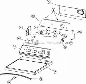 Admiral Ade7005ayw Parts List And Diagram   Ereplacementparts Com