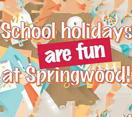 school holiday activities springwood shopping mall