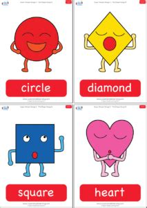 colors and shapes lyrics the shape song 1 flashcards simple