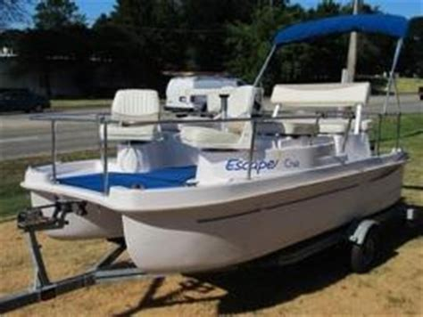 quote to ship a escape electric pontoon deck boat